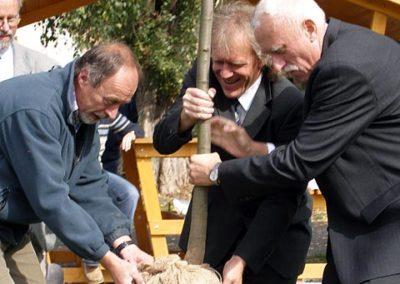 Výsadba památných lip 29.9.2007 v Horosedlech