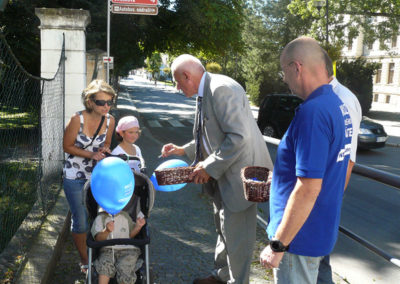 Během kampaně, Třeboň
