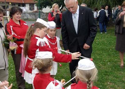 Výsadba památných lip 29.9.2007 v Malenicích