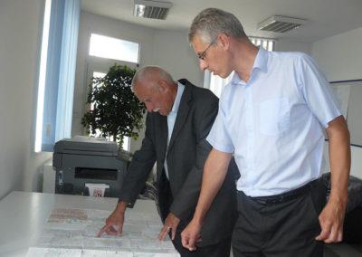 V odborné diskuzi o stavbě dálnice D3 s Vítem Kavalírem, Rudolfov