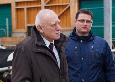 V Agře Deštná s panem starostou D.Šaškem.