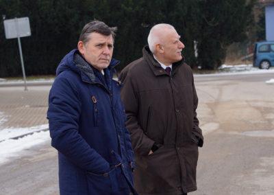 Se starostou Petrem Nekutem z K.Řečice.