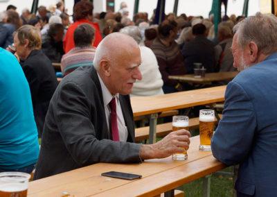 Na pivu v Chýnově s Pavlem Eybertem