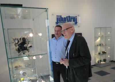 návštěva Jihostroje Velešín, duben 2018
