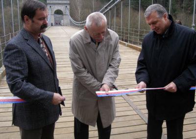 Otevření mostu Stádlec 28.11.2006