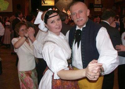 Na X. reprezentačním národním krojovém plese Folklorního sdružení ČR 3. února 2007
