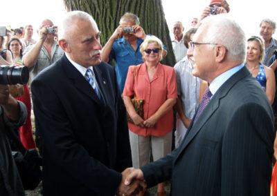 S prezidentem Václavem Klausem
