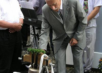Svěcení zvonu v Borových Ladách 30.7.2006